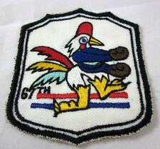67th Fighter-Bomber Squadron Unit Air Force Patch Kadena AB, Okinawa, Japan