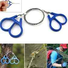 Emergency Survival Camping Hiking Hunting Climbing Gear Stainless Steel Wire Saw