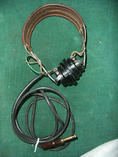 Antique Western Electric Headphones