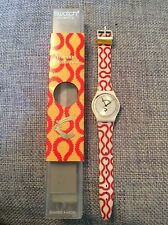 VIVIENNE WESTWOOD ANGLOMANIA SQUIGGLE SWATCH WATCH