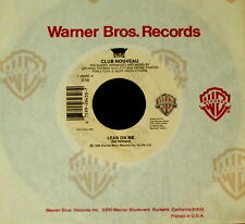 "CLUB NOUVEAU ""LEAN ON ME/Pump It Up"" WARNER BROTHERS 28430 (1986) 45rpm SINGLE"