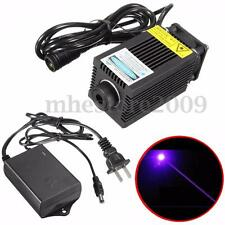 12V 405nm 500mW Focusable Blue Violet Industrial Carving laser Head Lamp Module