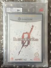 NEW FACTORY SEALED RESIDENT EVIL ZERO NINTENDO GAMECUBE UKG / VGA GRADED 80+