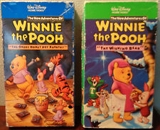 The New Adventures Of Winnie The Pooh (Vol. 1 & 2) Walt Disney WIshing Bear