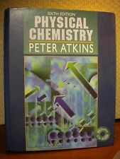 Physical Chemistry Sixth Edition Peter Atkins - CD-Rom included
