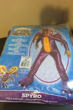 Skylander SPYRO Child's Costume Size Medium 8-10 Halloween costume Dragon NEW