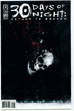♥♥♥♥ 30 DAYS OF NIGHT: RETURN TO BARROW • Issue 1 • 2nd Print • IDW