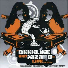 DEEKLINE & WIZARD = from Brixton to Brisbane =2CD= BREAKBEAT ELECTRO BREAKS !!