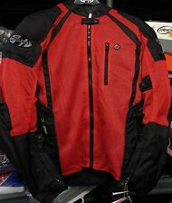 Joe Rocket Mens mesh textile Phoenix ion ultra reflective jacket XL  RED