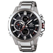 Casio Edifice ECB500D-1A Stainless Steel Smartphone Link Men's Watch