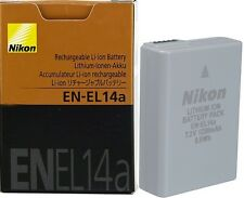 Original EN-EL14a Battery for Nikon DF D5300 D3300 D5200 D3200 D5100 P7100 P7800