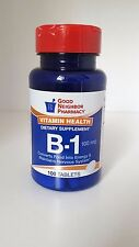 GNP Vitamin B-1 100mg Tablets 100 Tablets