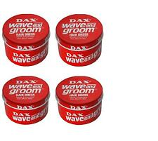 4X DAX HAIR WAX WAVE AND GROOM RED HAIR DRESS STYLE 99g