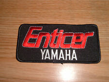 VINTAGE YAMAHA ENTICER SNOWMOBILE EMBROIDERED PATCH