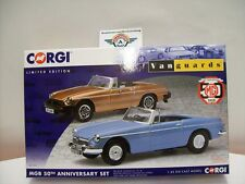 "MGB ""50th Anniversary"" Set 1962 - 2012, Vanguards 1:43 OVP"