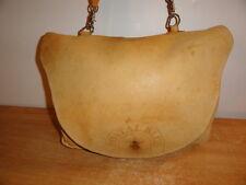 Tan Leather U.S Postal Services POSTAL BLUE Mailman Messenger Saddle Carrier Bag
