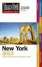 Time Out Shortlist New York 2013