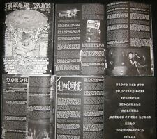 Inner War #1 Zine (Blood Red Fog, Funerary Bell, Förgjord, Itsemurha, Mortuus)