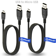 2x Micro USB Data Sync Charging Charger Cable For Samsung Galaxy S3 i9300 3 ft