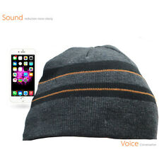 Music Knitted Beanie Hat Wireless Bluetooth Headset Earphone For iPhone SE 6S 5C