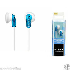 Genuine NEW Sony MDR-E9LP / L (Blue) Earbud Headphones earphones MDRE9LP/L