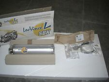 NEW LEO VINCE SBK EXHAUST SLIP ON MUFFLER GSXR1000 GSXR 1000 GSXR1000R 05 06