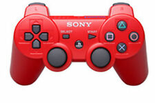 PS3 PLAYSTATION 3  DUALSHOCK 3 WIRELESS BLUETOOTH SIXAXIS  CONTROLLER- SONY RED