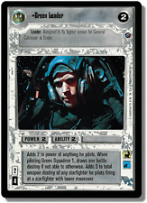 Green Leader [Near Mint/Mint] DEATH STAR II star wars ccg swccg