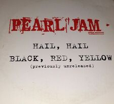 Pearl Jam Hall, Hall Black, Red, Yellow Card Sleeve CD Single Rare From No Code