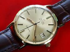 VINTAGE  CIRCA 1974   MEN'S OMEGA  GENEVE  AUTOMATIC  SERVICED  DATE  CAL 1012