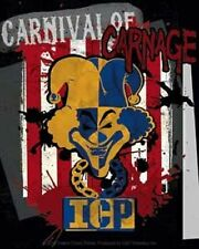 Insane Clown Posse Hip Hop Music Band Sticker Carnival of Carnage Decal Window