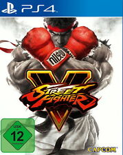 PS4 Spiel Street Fighter V Steelbook Version (Sony PlayStation 4, 2016) Top