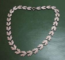Schönes altes WMF IKORA-COLLIER / Halsband • Blatt-Design