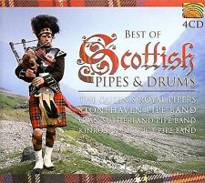 Best of Scottish Pipes & Drums CD