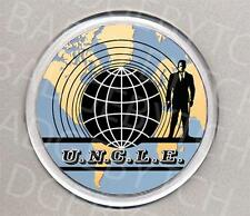 THE MAN FROM U.N.C.L.E. round drinks COASTER - RETRO CLASSIC!
