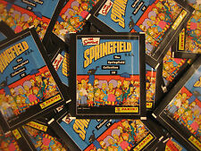 Panini Simpsons 4 Springfield Collection - 50 Tüten - 250 Sticker