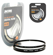 Jacobs Slim 77mm UV Multi Coated Filter Digital UK Pro for Hoya B&W nikon canon
