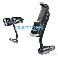 Bluetooth MP3 Player FM Transmitter Freisprechanlage IPHONE 4S 4 3GS IPOD