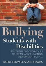 BULLYING AND STUDENTS WITH DISABILITIES - BARRY EDWARDS MCNAMARA (PAPERBACK) NEW