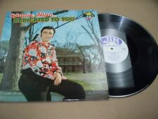## VINYL ALBUM RECORD,DEDICATED TO YOU, JOHNNIE ALLAN,LP 9006 JIN RECORDS 1974