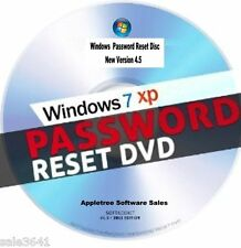 Window Password Recovery & Reset Disk For Window Xp, 7 Boot CD
