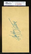 HAPPY FELTON SIGNED JSA CERTIFIED 1952 GPC AUTHENTIC AUTOGRAPH