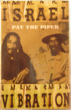 Israel Vibration - Pay The Piper Cassette - SEALED - New Copy - Roots Reggae