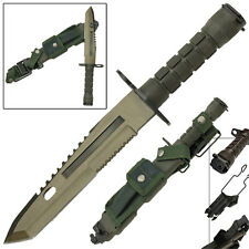 Deception Combat Military Defense Special Ops Bayonet Tactical Survival Knife