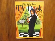 March 20-1994 Detroit Free Press TV Book/Magazine(WHOOPI GOLDBERG/ACADEMY AWARDS