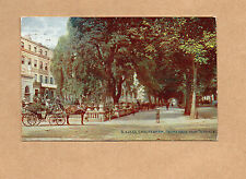 Cheltenham Gloucestershire Promenade from the terrace tinted posted 1914 BR1