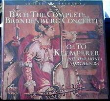 Bach/Klemperer   The Complete Brandenburg Concerti   2 lps   Angel