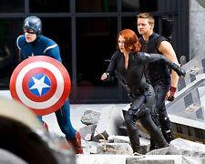 Scarlett Johansson Jeremy Renner Chris Evans Avengers 8X10 GLOSSY PHOTO  sj136