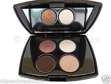 Lancome Color Design Sensational Effects Eye Shadow Quad Palette Browns & Creams