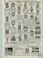 1917 PAPER AD Ball Mason Ideal Kerr Self Sealing Improved Canning Jars Fruit